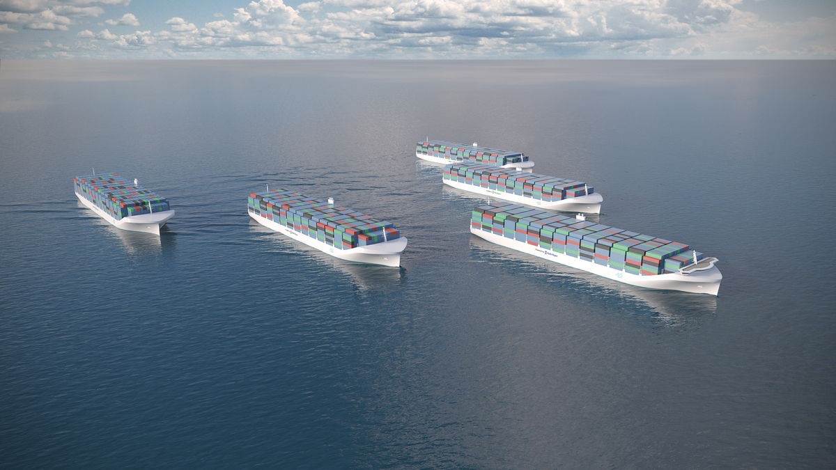 Drone ships would be safer, cheaper and less polluting for the $375 billion shipping industry that carries 90 percent of world trade, Rolls-Royce says.