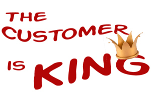 The Customer is King