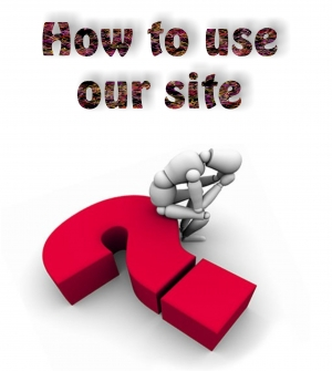 How to use our Site
